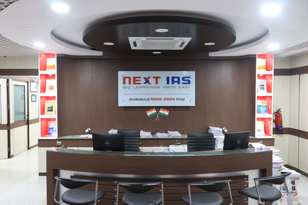 NEXT IAS Reception, Old Rajiender Nagar, New Delhi